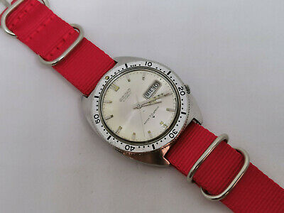 $ CDN549.82 • Buy Vintage Seiko 6106-8100 Diver Automatic First Sports Diver Silver Dial - Working