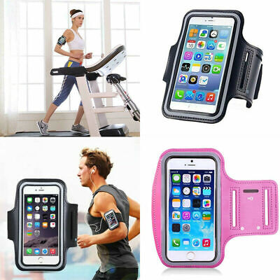 Gym Running Jogging Sports Armband Holder Case Bag For IPhone Mobile Phones • 2.79£