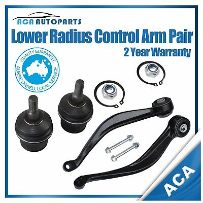 AU199.50 • Buy Front Lower Control Radius Arms Ball Joints For Ford Territory SX SY AWD 2WD L&R