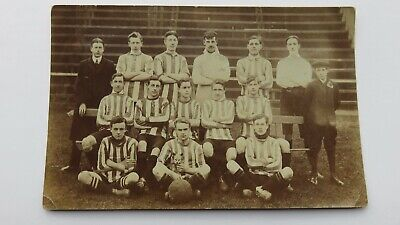 Postcard Loftus, Loftus Albion Football Team, N. Yorks. Circa 1910. Unposted. • 7.99£