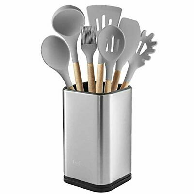 AU41.93 • Buy Kitchen Utensil Counter Caddy Holder Stainless Steel Space Organizer With Drain