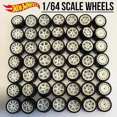 $ CDN8.74 • Buy Hot Wheels Real Riders Wheels And Tires Set For 1/64 Scale