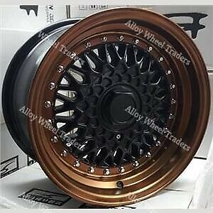 AU905.09 • Buy Alloy Wheels 16  RS For Nissan 100nx Almera Cube Micra Note 4x100 MB Bronze