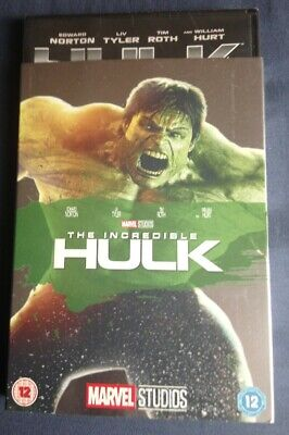 The Incredible Hulk DVD With O-RING Slipcover /sleeve Marvel Studios  • 19.99£