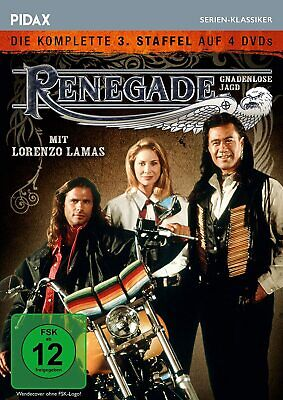 Renegade -TV Series Season 3 Third DVD Box Lorenzo Lamas PAL Region 2 • 39.99£