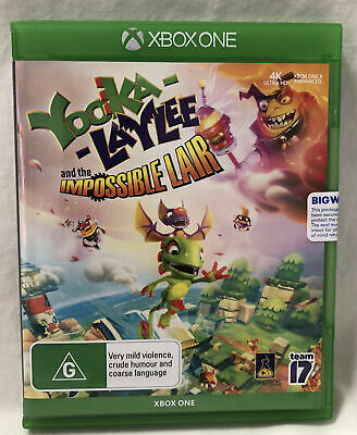 AU24.95 • Buy Yooka Laylee And The Impossible Lair Xbox One AUS Stock NEW