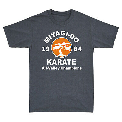 $15.27 • Buy Miyagi-Do Karate 1984 All-Valley Champions 80s Movie Retro Men's Cotton T-Shirt