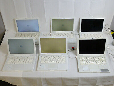 $ CDN264.29 • Buy Lot Of 6 13'' 2007 Apple MacBook Laptops | AS-IS | FOR PARTS OR NOT WORKING
