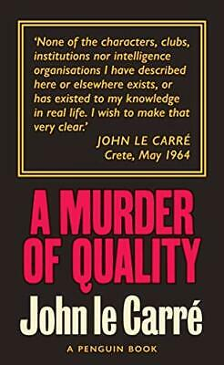 £7.09 • Buy A Murder Of Quality: The Smiley Collection By Carre, John Le Book The Cheap Fast