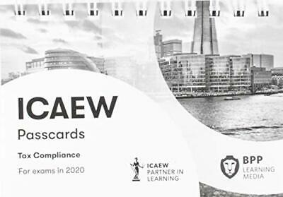 ICAEW Tax Compliance: Passcards By BPP Learning Media Book The Cheap Fast Free • 11.99£
