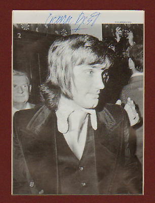 GEORGE BEST In Person SIGNED BOOK PICTURE In Display UACCRD Sale • 49£