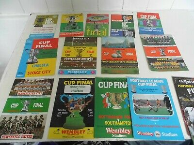 26 League Cup Final Programmes 1967-1987 (including Some Replays) • 19.99£