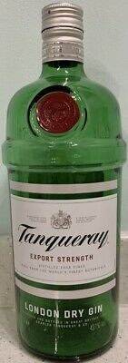 £1.50 • Buy Empty Tanqueray Gin Bottle - 1L