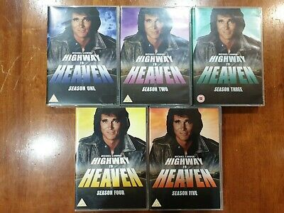 Highway To Heaven - Seasons 1-5 -The Complete Collection DVD 201330 Disc Set • 56£