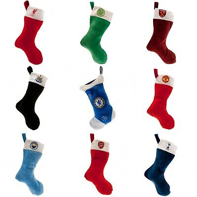 Football Christmas Stocking Xmas OFFICIAL ITEM Dress Up Party Gift Festive • 7.87£