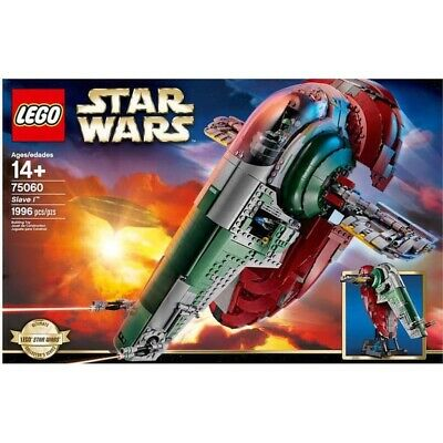 AU459.99 • Buy Lego 75060 Star Wars Ultimate Collector Series SLAVE I Brand New Sealed