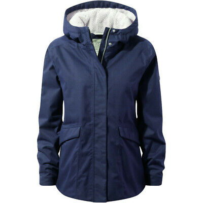 Craghoppers Womens/Ladies Lindi Water Resistant Insulated Walking Jacket • 72£