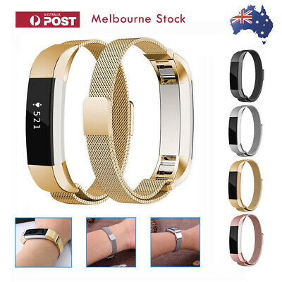 AU9.99 • Buy Fitbit Alta / Alta HR Band Metal Stainless Steel Milanese Strap Loop Wristband
