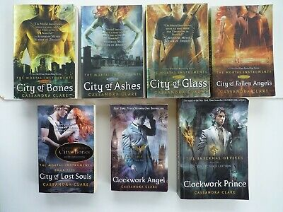 Cassandra Clare; Job Lot 5 The Mortal Instruments & 2 The Infernal Devices Books • 13.65£
