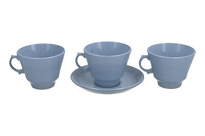£17.95 • Buy Woods Ware Iris Cup & Saucer + 2 Cups Vintage English Pottery