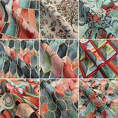 £8.79 • Buy Designer Artists Tapestry Premium Fabric For Upholstery Curtains Throws Cushion