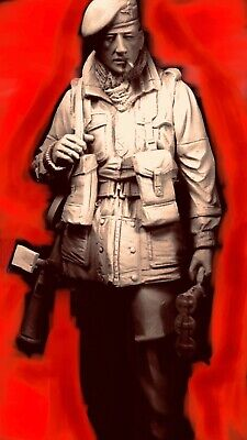 British Paratrooper WWII 120mm Kit Not Verlinden / The Roll Call Maurice Corry • 60£