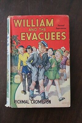 Richmal Crompton - William And The Evacuees 2nd Ed(same Year As 1st) 1940 Newnes • 90£