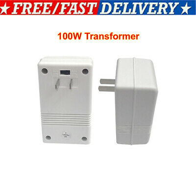 110V To 220V 100W Step Up&Down Dual Voltage Converter Transformer For Travelling • 11.69£