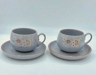 Denby Reflections Cup & Saucer • 4£