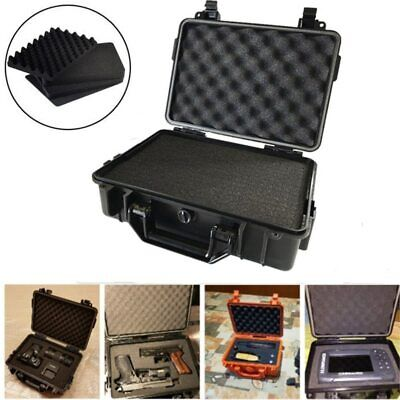 £29.63 • Buy Waterproof Safety Case ABS Plastic Tool Box Outdoor Tactical Dry Box Sealed