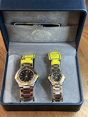 His And Hers Holly Wood Polo Watches In Original Gift Box • 22.78£