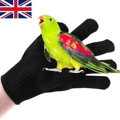 £7.99 • Buy Bird Anti-bite Gloves Parrot Hamster Chewing Working Safety Protective Gloves