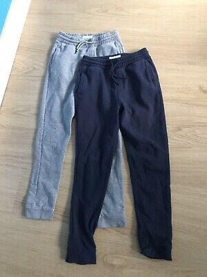 Boys Blue Zoo Tracksuit Jogging Bottoms Grey & Navy Age 11-12 Excellent!!! • 1.95£