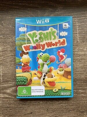 AU30 • Buy Yoshi's Woolly World (Nintendo Wii U, 2015) Complete & In Great Condition
