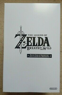 AU325 • Buy Zelda Breath Of The Wild Limited Edition (Switch) - Master Sword Of Resurrection