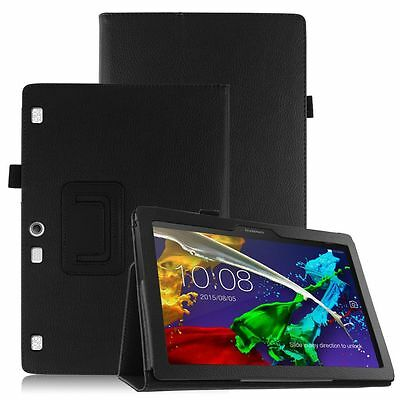 AU14.99 • Buy Premium Flip Leather Case Cover Stand For Lenovo Tab 3 10 Tablet TB-X103F 16GB