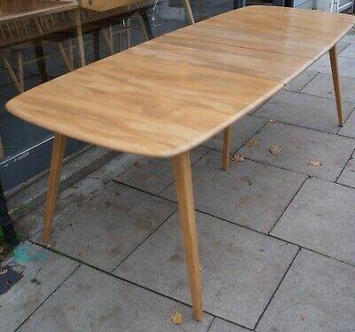 Vintage 1970s Extendable 'grand Plank'  Ercol Windsor Dining Table • 1,395£