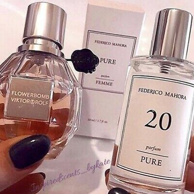 FM 20 Pure - Inspired By Viktor & Rolf - Flowerbomb *pre-order* • 16£