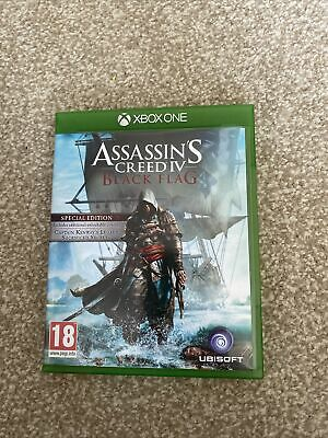 XBOX ONE Assassins Creed Black Flag Game • 5.50£