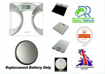 Battery For Salter Digital Bathroom And Kitchen Weighing Scales - Fast Free Post • 1.95£
