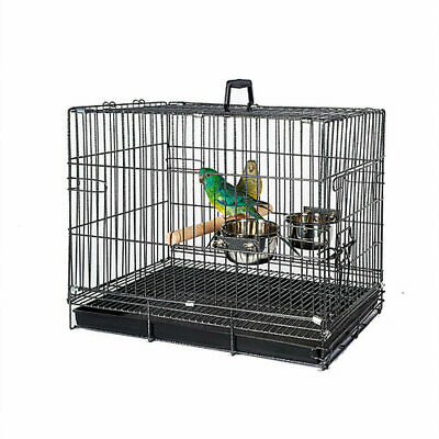 Small Bird Parrot / Parakeet, Conure, Quaker, Travel Carry Cage. • 30.99£