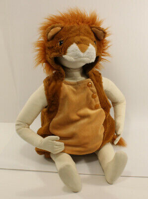 £7.25 • Buy Plush Lion Costume - Size Baby 0-6 Months