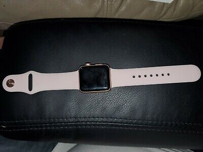 $ CDN254.12 • Buy Apple Watch Series 3 - Rose Gold With Pink Sand Sport Band (GPS + Cellular) -...