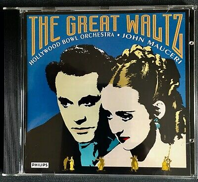 The Great Waltz - Hollywood Bowl Orchestra - John Mauceri CD F27 • 1.20£