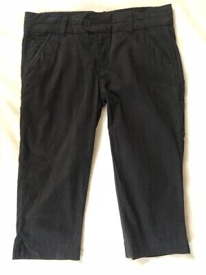 $9 • Buy Freestyle Revolution Ladies Black Size 9 Capri Pants