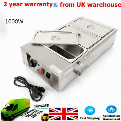 £147.25 • Buy Commercial Electric Chocolate Tempering Machine 12kg Melter Maker 3 Melting Pot