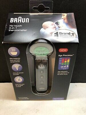 $ CDN59.20 • Buy Braun No Touch Forehead Thermometer 3-in-1 FREE FAST DELIVERY Next Day!