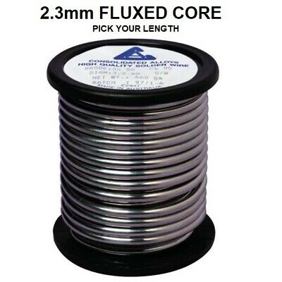 £3.99 • Buy 2.3mm Thick Soldering/Solder Wire Flux Cored DIY Electronics 60/40 Tin