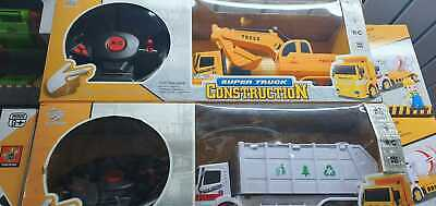Remote Control Digger RC Kids Xmas Toy Excavator Truck Controlled Construction • 18.99£