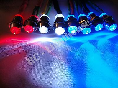 RC Lights For Traxxas, Losi HPI CEN Crawlers 2W2R4B 5mm • 9.28£